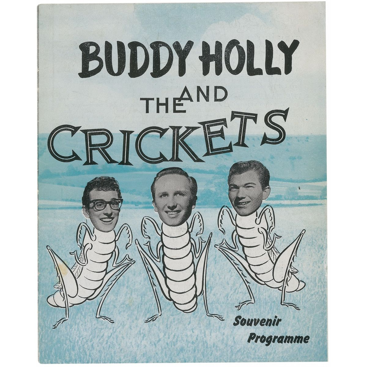 Buddy Holly & the Crickets - souvenir programm1