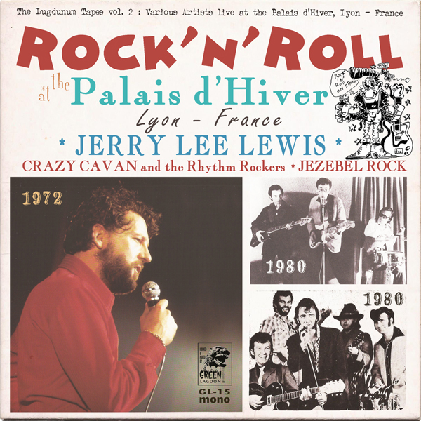 Rock'n'Roll at the Palais d'Hiver - front cover
