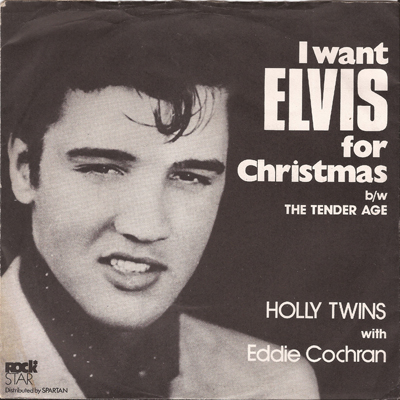 Holly Twins feat Eddie Cochran - front